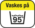 Kan vaskes 95°