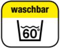 waschbar 60°