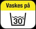 Kan vaskes 30°