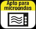 Apto para el microondas