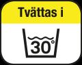 Tvättas i 30°C