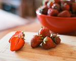 Bild: Saisonkarte z. B. Erdbeeren