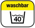 waschbar 40°