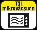 Tål mikrovågsugn