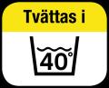 Tvättas i 40°C