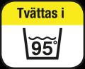tvättbar 95°